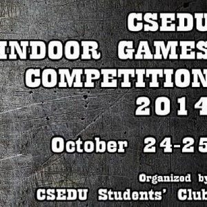 Indoor Games Competition 2014